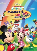 mickey mouse clubhouse ตอน mickey color adventure